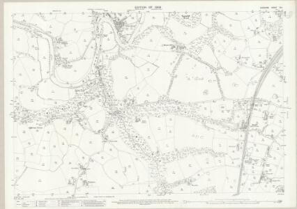 Cheshire XX.1 (includes: Bredbury and Romiley; Hazel Grove and Bramhall; Marple; Stockport) - 25 Inch Map