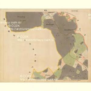 Beneschau - c0113-2-006 - Kaiserpflichtexemplar der Landkarten des stabilen Katasters