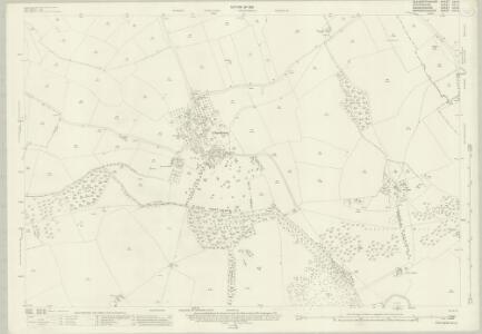 Gloucestershire XXII.8 (includes: Adlestrop; Chastleton; Evenlode; Little Compton) - 25 Inch Map