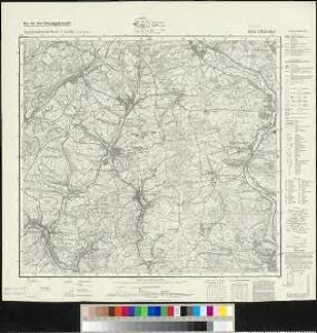 Meßtischblatt 6508 : Ottweiler, 1940