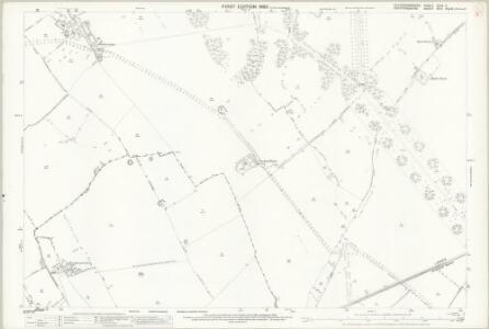 Buckinghamshire XXIX.3 (includes: Cheddington; Mentmore; Tring Rural; Wing; Wingrave with Rowsham) - 25 Inch Map