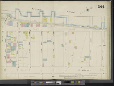 Manhattan, V. 11, Double Page Plate No. 244 [Map bounded by Hudson River, W. 138th St., Boulevard, W. 130th St.]