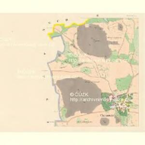Chanowitz (Chanowice) - c2474-1-002 - Kaiserpflichtexemplar der Landkarten des stabilen Katasters