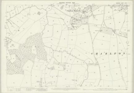 Somerset LXXIII.4 (includes: Charlton Mackrell; Kingsdon; Somerton) - 25 Inch Map