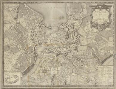 Plan de la Ville de Genève Corrigé sur les lieux, en 1777.