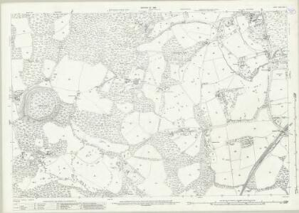 Surrey XXXIII.15 (includes: Capel; Holmwood) - 25 Inch Map