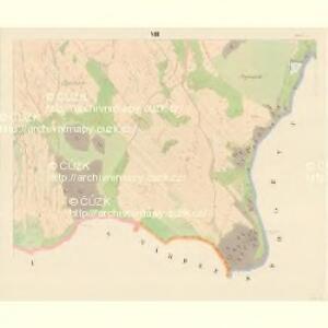 Serowitz - c9451-1-008 - Kaiserpflichtexemplar der Landkarten des stabilen Katasters