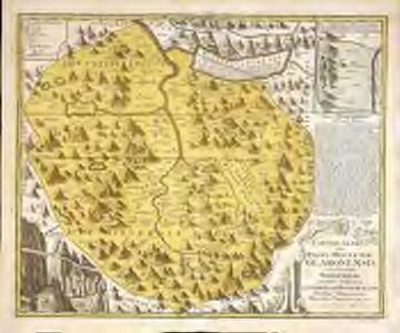 Canton Glarus sive pagus helvetiæ Glaronensis cum satrapia Werdenberg