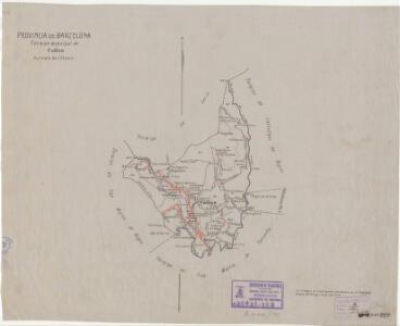 Mapa planimètric de Callús