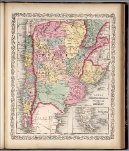 Chili, Argentine Republic, Paraguay, and Uruguay.