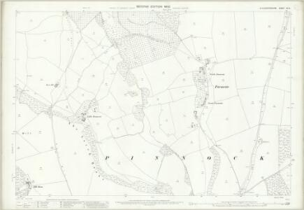 Gloucestershire XX.8 (includes: Stanway; Temple Guiting; Winchcombe) - 25 Inch Map