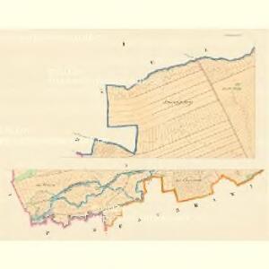 Morawitschan (Morawitschany) - m1854-1-001 - Kaiserpflichtexemplar der Landkarten des stabilen Katasters