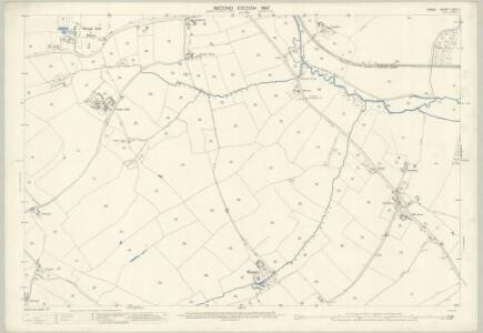 Essex (1st Ed/Rev 1862-96) XXXIII.1 (includes: Great Dunmow; Little Dunmow) - 25 Inch Map