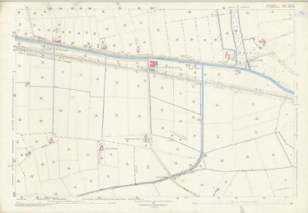 Lincolnshire LX.16 (includes: Broadholme; Burton; Saxilby with Ingleby; Skellingthorpe) - 25 Inch Map