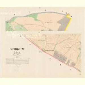 Nebrzem - c5099-1-002 - Kaiserpflichtexemplar der Landkarten des stabilen Katasters