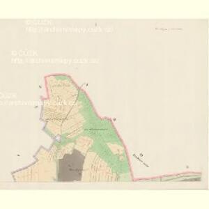 Gross Zablath - c9005-1-001 - Kaiserpflichtexemplar der Landkarten des stabilen Katasters