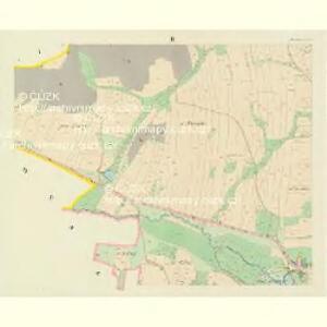 Mochtin - c4809-1-002 - Kaiserpflichtexemplar der Landkarten des stabilen Katasters
