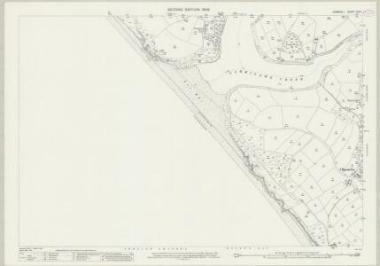 Cornwall LXXX.1 (includes: Gunwalloe; Helston) - 25 Inch Map