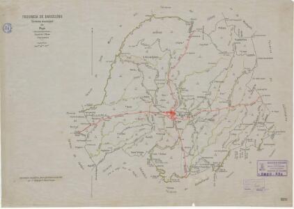 Mapa planimètric de Moià