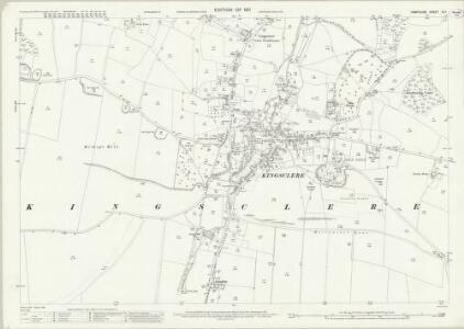 Hampshire and Isle of Wight IX.7 (includes: Kingsclere) - 25 Inch Map
