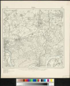Messtischblatt 2578 : Witten, 1906 Witten