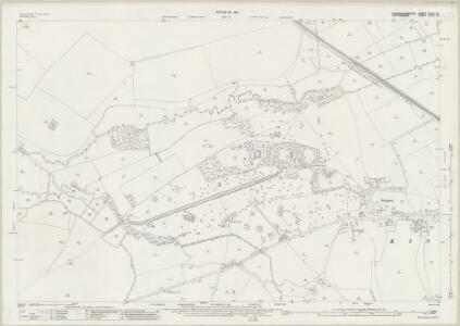 Buckinghamshire XXXII.16 (includes: Haddenham; Kingsey; Thame; Towersey) - 25 Inch Map