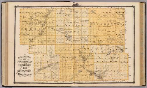 Counties of Pocahontas, Cherokee, Ida, Buena Vista, Calhoun & Sac.