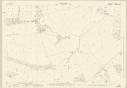 Herefordshire III.1 (includes: Bromfield; Leintwardine; Onibury) - 25 Inch Map