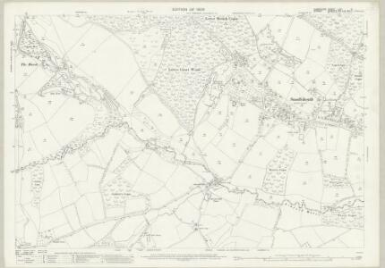Hampshire and Isle of Wight LXII.2 (includes: Alderholt; Damerham; Fordingbridge; Rockbourne) - 25 Inch Map