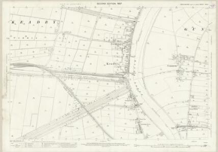 Lincolnshire XVIII.1 (includes: Althorpe; Gunness; Keadby) - 25 Inch Map