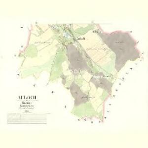 Auloch - c8247-1-002 - Kaiserpflichtexemplar der Landkarten des stabilen Katasters