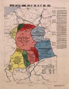 British battles during 1918
