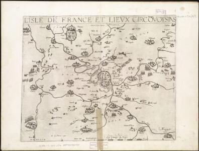 L'Isle de France et lieux circövoysins
