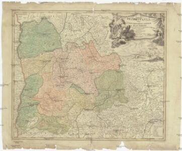 Tabula Delphinatus vulgo gouvernement general du Dauphiné in svos ballifiatus et regiones divisus
