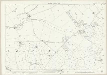 Cumberland LXXVIII.9 (includes: Gosforth) - 25 Inch Map