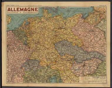 Allemagne. Politique et économique. n133