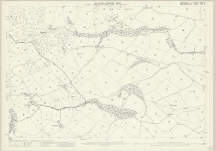 Montgomeryshire XXIV.14 (includes: Chirbury; Trelystan; Worthen) - 25 Inch Map