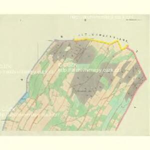 Ober Hennersdorf - c2060-1-001 - Kaiserpflichtexemplar der Landkarten des stabilen Katasters