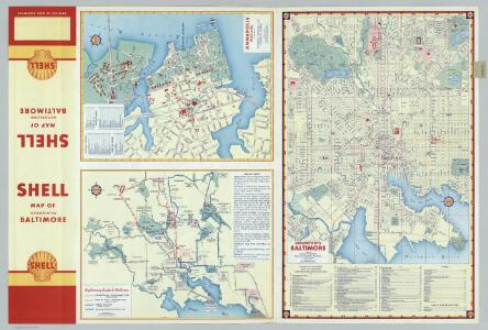 Annapolis.  Downtown Baltimore.  Sightseeing Guide to Baltimore.