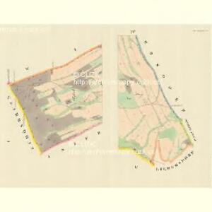 Ober Ullischen (Hornj Olessne) - m0808-1-001 - Kaiserpflichtexemplar der Landkarten des stabilen Katasters