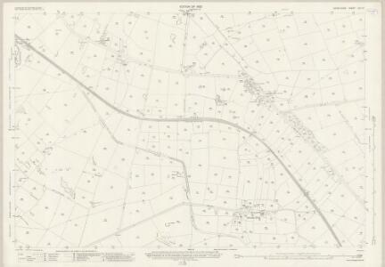 Derbyshire XXII.15 (includes: Chelmorton; Flagg; Hartington Middle Quarter; Hartington upper Quarter) - 25 Inch Map