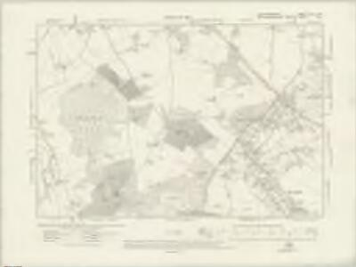 Hertfordshire XLIII.NW - OS Six-Inch Map