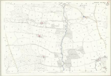 Devon XXXIII.9 (includes: Creacombe; Rose Ash; Witheridge) - 25 Inch Map