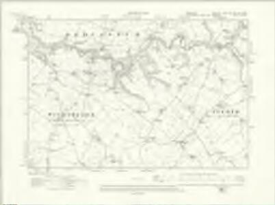 Cheshire LXIVA.NE & LXIV.NW - OS Six-Inch Map