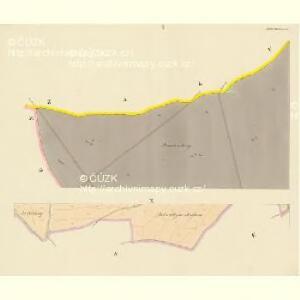 Bollewetz (Bolewec) - c0349-1-001 - Kaiserpflichtexemplar der Landkarten des stabilen Katasters