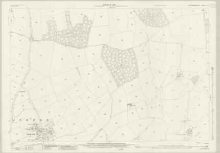 Buckinghamshire V.11 (includes: Chicheley; Emberton; Sherington) - 25 Inch Map