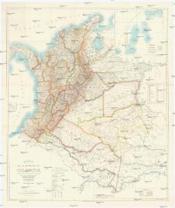 Mapa de la República de Colombia