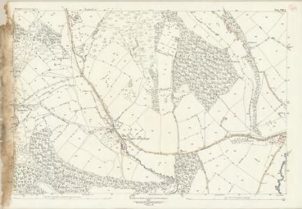 Shropshire LXIV.4 (includes: Eaton Under Haywood; Munslow; Rushbury) - 25 Inch Map