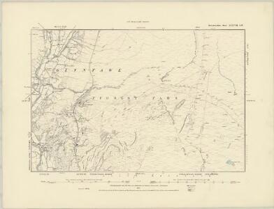 Brecknockshire XXXVI.NW - OS Six-Inch Map