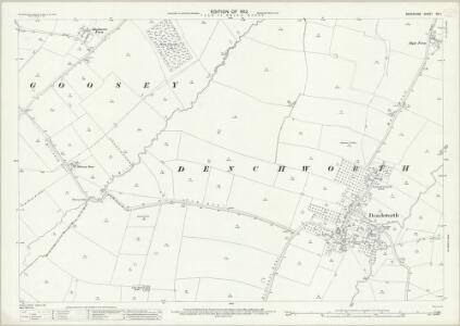 Berkshire XIV.1 (includes: Denchworth; Goosey; West Hanney) - 25 Inch Map